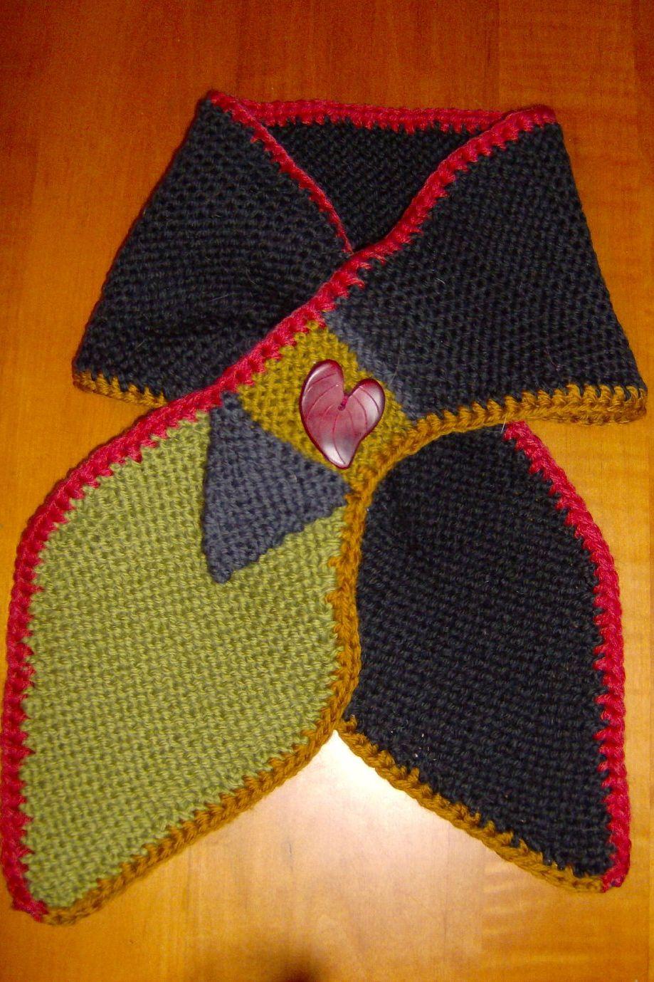 27 Button Cravat Scarf Magmm027 Yarn Craft Supplies Store